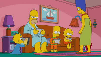 The Simpsons 29x15 : No Good Read Goes Unpunished- Seriesaddict